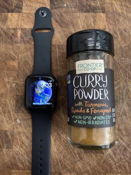 Acidic food ding Apple Watch's water resistance. Seriously.