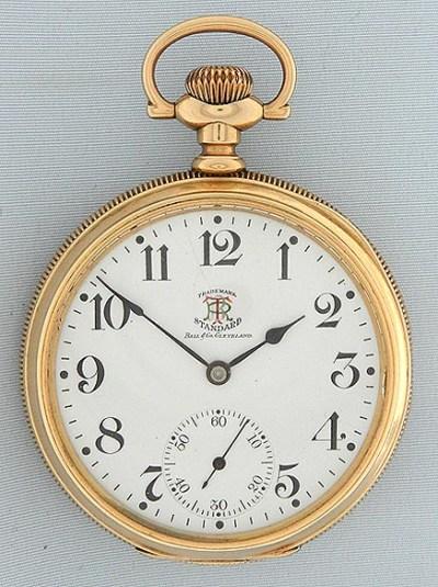 Ball railway watch