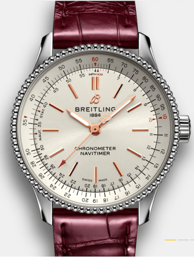Breitling new watches: Navitimer Automatic 35
