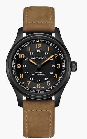 Hamilton Field Titanium Auto - new watch alert