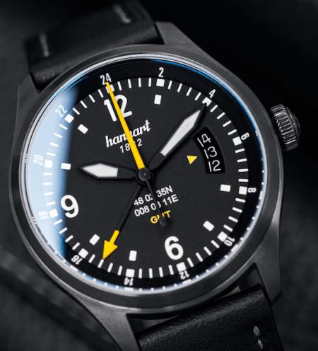 New watch alert! Hanhart SK 60