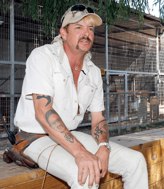 Joe Exotic's watch just hanging out