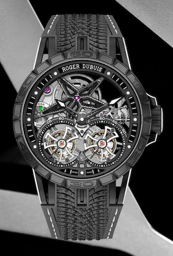 New watch alert: Roger Dubuis Excalibur Pirelli Ice Zero 2 Double Flying Tourbillon