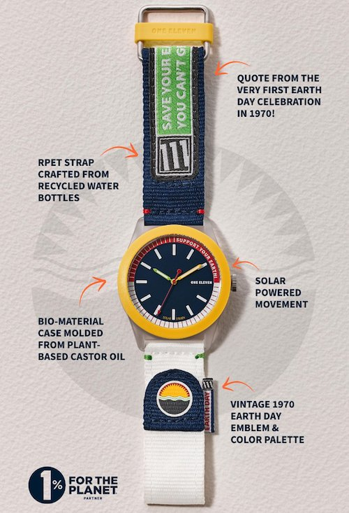 One Eleven Earth Day watch