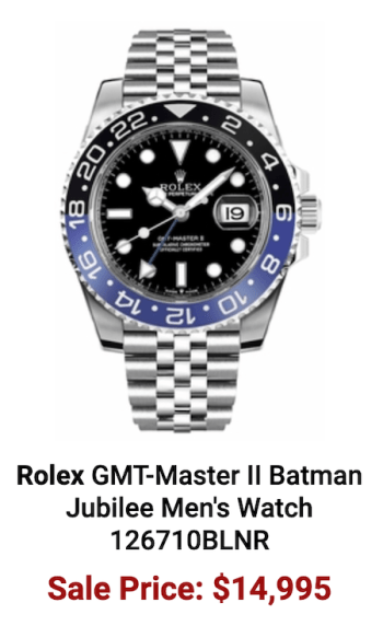 Pre-owned watches: Rolex GMT