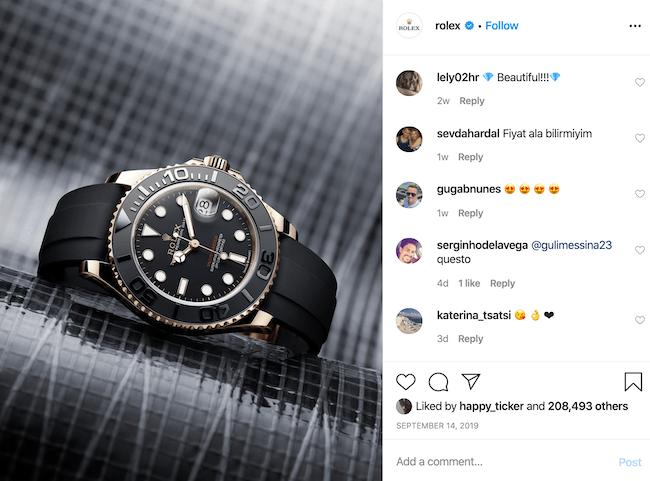Rolex Instagram