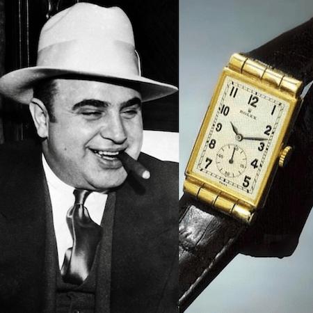 Al Capone and Rolex crime