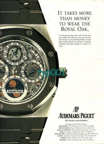 Audemars Piguet Royal Oak ad