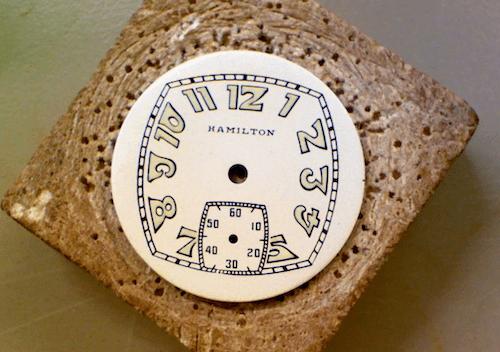 International dial Hamilton restoration