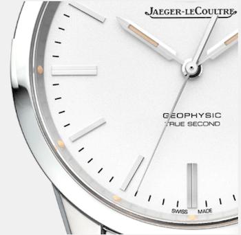 Jaeger-LeCoultre Geophysic close up