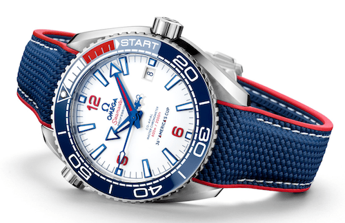 New watch alert! OMEGA Seamaster Planet Ocean 36th America's Cup LE