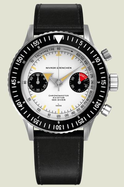 Nivada Grenchen Chronomaster Air Sea Diver Manual