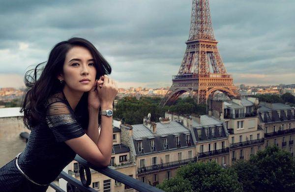 OMEGA brand ambassador Zhang Ziyi- Swiss watch industry