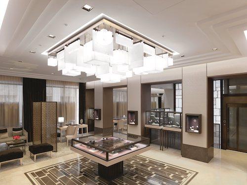London showroom