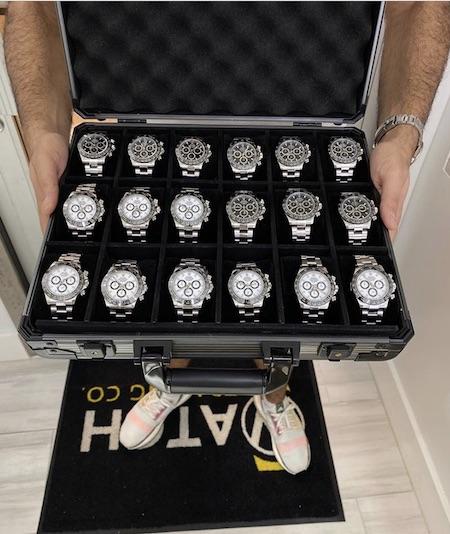 Rolex supply
