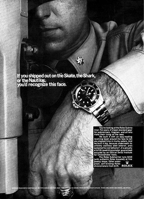 Rolex Submariner Ad