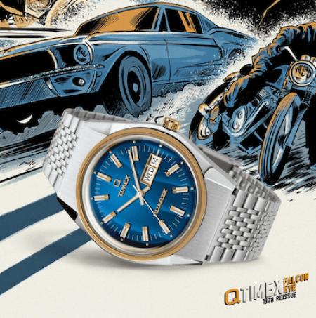 Timex Q Falcon Eye - new watch alert