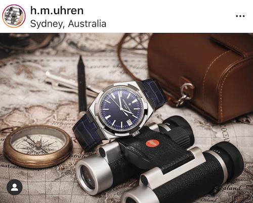 Vacheron Constantin Overseas binoculars