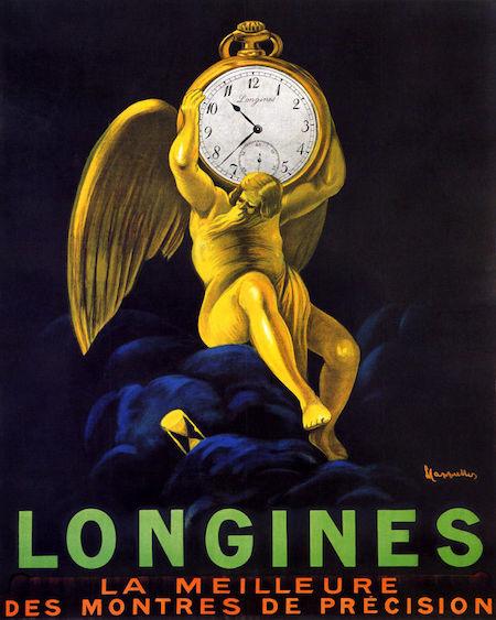 vintage longines ad
