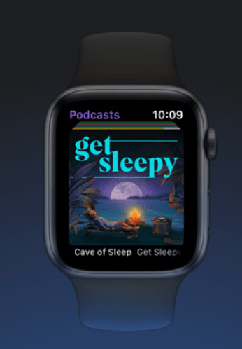 Apple watchOS 7 sleep app