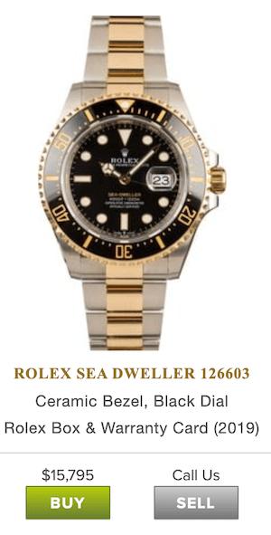 Bob's Watches Rolex Sea Dweller