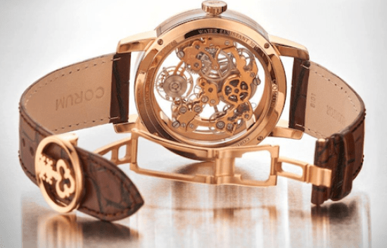 Corum Lab 02 caseback