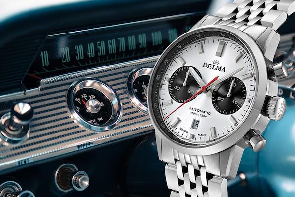 Delma Continental Bicompax Chronograph