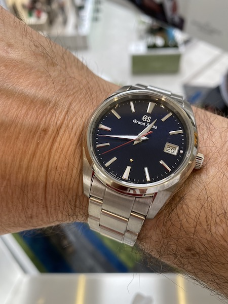 Grand Seiko Anniversary quartz 2nd floor