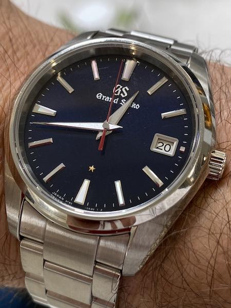 Grand Seiko Anniversary quartz dial