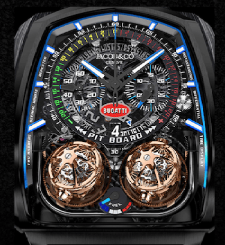 Jacob & Co. Twin Turbo Furious Bugatti 300+ - new watch alert