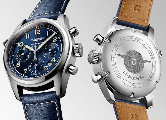 Longines Spirit Chronometer front and back