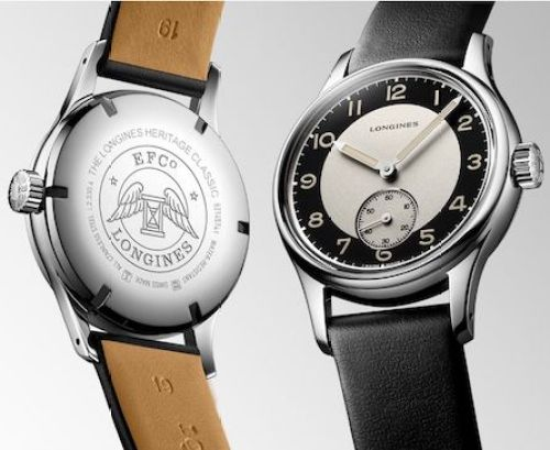 New watch alert - Longines Tuxedo front and back