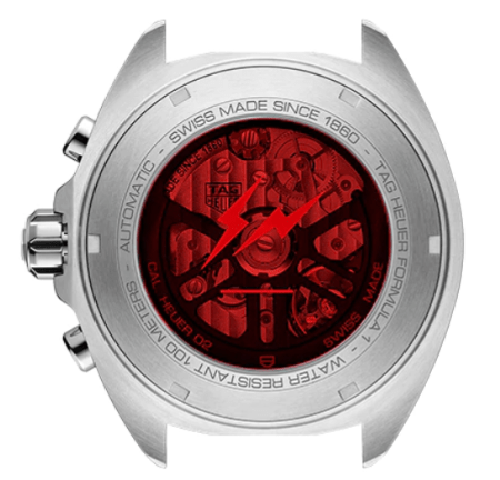 New watch alert - TAG Heuer caseback
