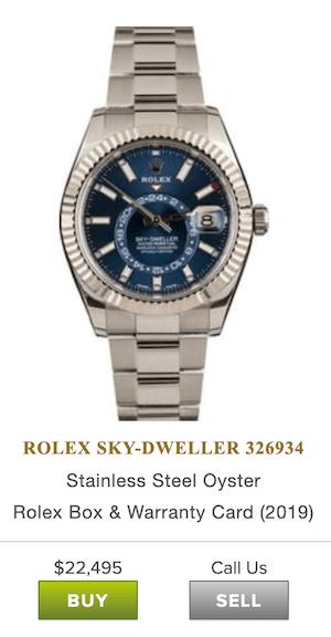 Rolex Skydweller