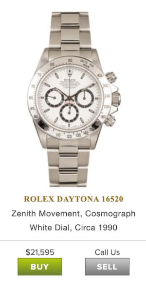 Bob's Watches Rolex Daytona