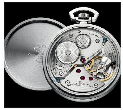 Ball pocket watch movement