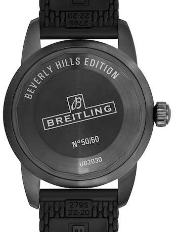 Breitling Superocean Beverly Hills caseback