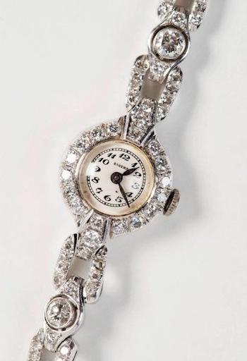 Hitler's watch gift to Eva Braun