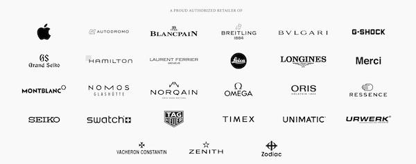 Hodinkee shop brands for sale