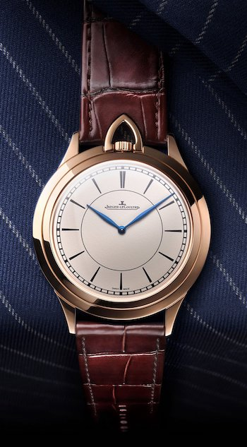 Jaeger LeCoultre Master Ultra-Thin Kingsman Knife Watch close up