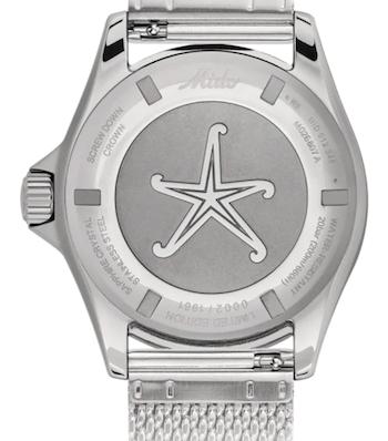 MIDO Ocean Star Decompression Timer 1961 caseback