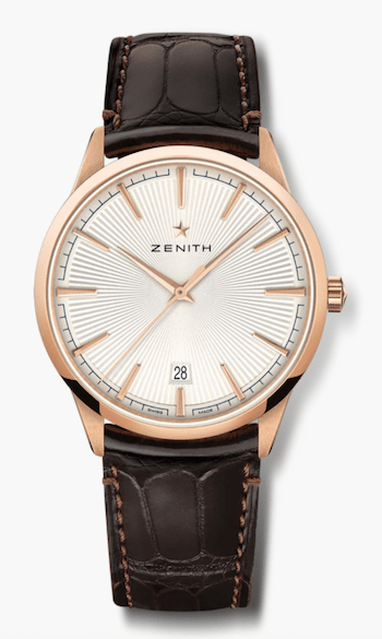 New watch alert - rose gold Zenith Elite Classic