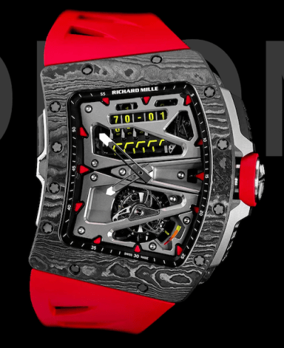 Richard Mille RM 70-01 standing up