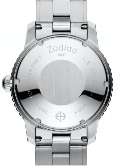 Zodiac Super Sea Wolf GMT Automatic caseback