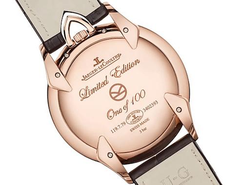new watch alert - Jaeger-leCoultre Kingsman caseback