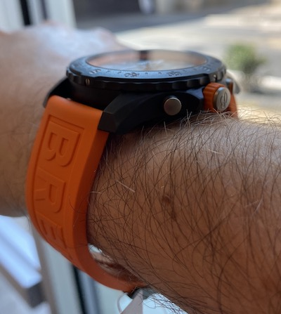 Breitling Endurance Pro on wrist