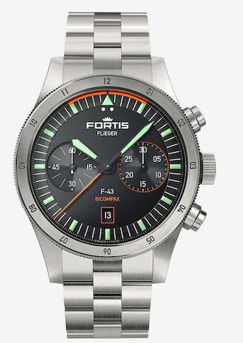 Fortis Flieger F-43 Bicompax - new watch alert