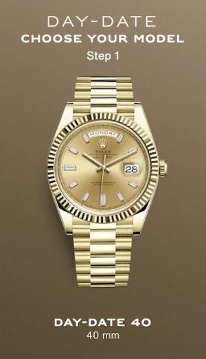Gold Rolex Day-Date