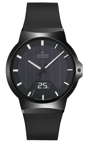 Junghans Force Mega Solar black
