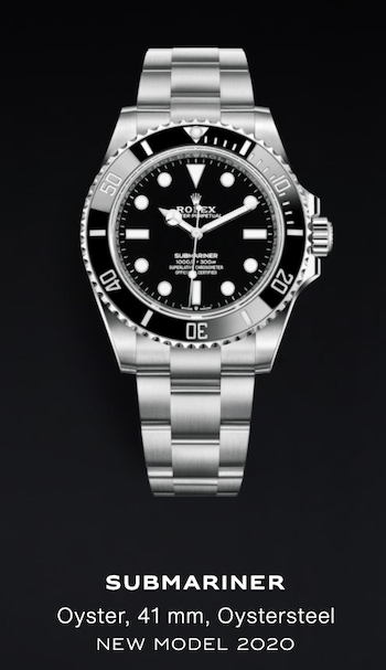 Rolex's success - New Submarine black dial with black bezel in Oystersteel